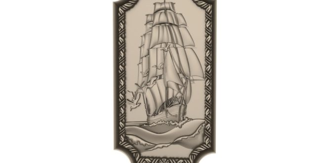 Free download ship picture 3d stl 1621