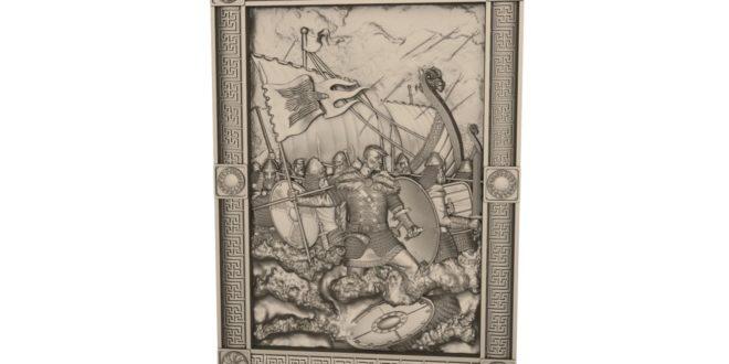 3D wall frame download war warriors warrior fighter brave 1625