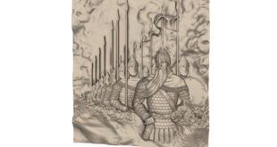 3D panel warriors in armor ready for battle stl 1654