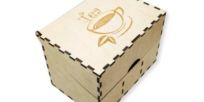 Free cnc file tea box download dxf