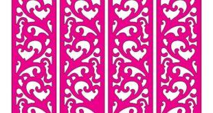 Free download cut file folding screen panel grid 2