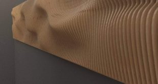 Free 3d wall panel layered to cut cnc vectors