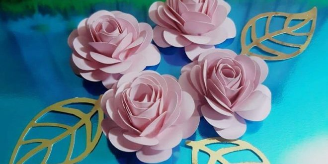 Free Silhouette Studio File Flower Helice 2.5inch 69mm