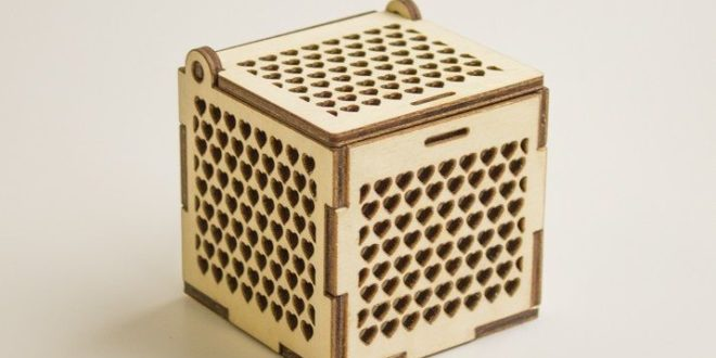 Free wood cnc cut jewelry box