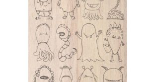 Free laser engrave monsters pack cdr file vector