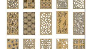 Pack set grid panels patterns cut dxf cdr files