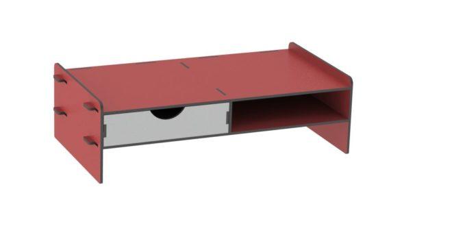 Pc Rack cnc wooden cut file vector