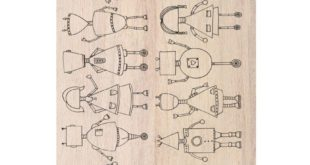 Free laser engrave robots pack cdr file vector