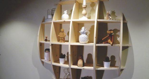 Free cnc project round shelf