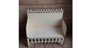 Cnc cut file Sofa 9mm kids king queen child party