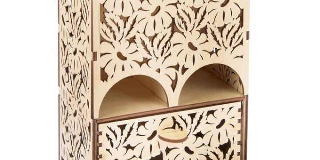 Free Laser Cut House for tea camomiles dxf file download