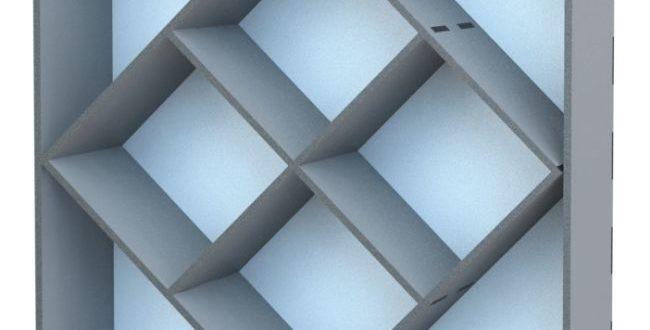 Free laser cut cnc shelf dxf cut vector
