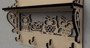 Free owl keychain