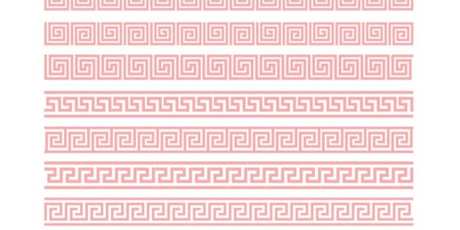 Free border patterns cdr file vector