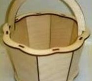 Free Basket cut file wood woodworking cnc