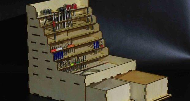 Free laser cut organizer cutter