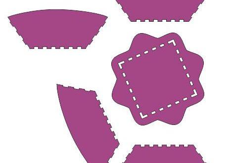 Free fruit tray plan design dxf download