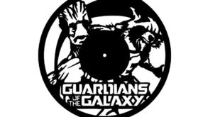 Dxf Cut File Clock Guardians of the Galaxy Free