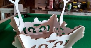 Free cnc drawing Basket design