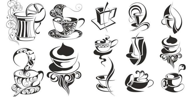Coffee svg dxf vectors free