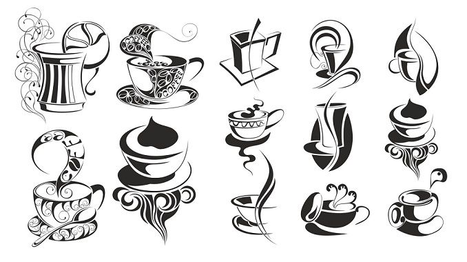Coffee Svg Dxf Vectors Free Dxf Downloads Files For Laser Cutting And Cnc Router Artcam Dxf Vectric Aspire Vcarve Mdf Crafts Woodworking