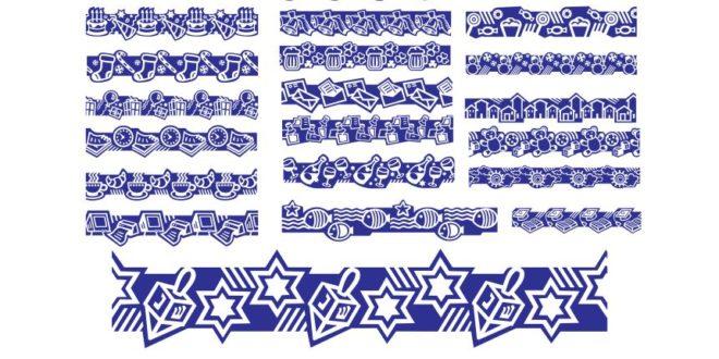Free cdr vector frame patterns