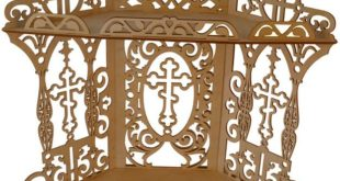 Religious corner shelf laser cut free vector download