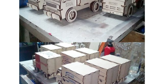 Closed box truck free laser cut