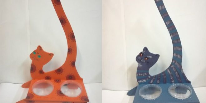 Free cnc file base for cat food cdr dxf