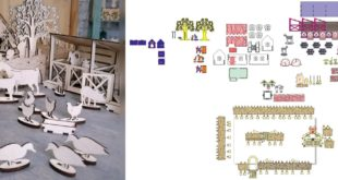 Laser Cut complete rural farm animals CDR DXF Files