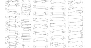 Ribbons Set Vectors Free Download