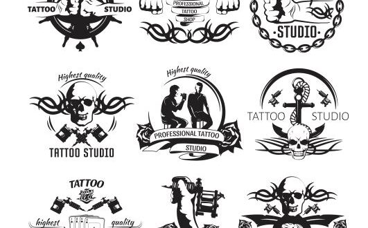 Tatto studio logo svg cdr vectors