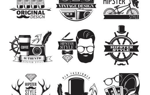 Craft SVG Vectors Beer Hipster Style Vintage Free