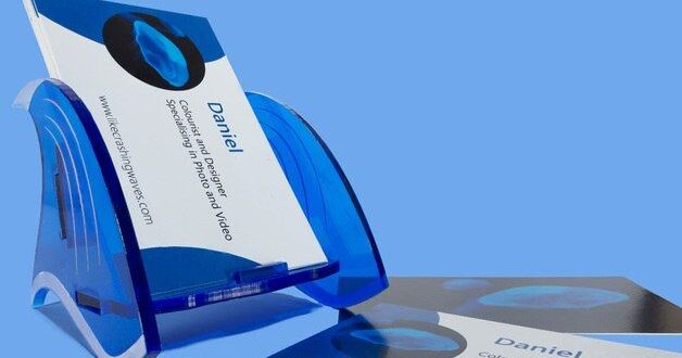 Business card holder to laser cutting acrylic free