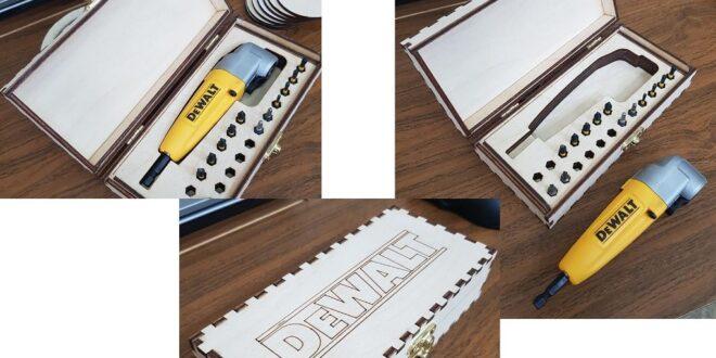 Case DeWALT 3mm + 4mm