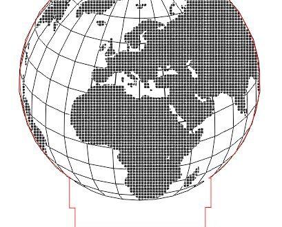 Globe illusion free