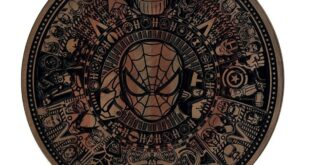 Spider Man Marvel Cnc Mandala Panel CDR File