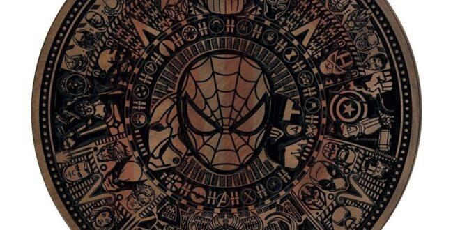 Spider Man Marvel Cnc Mandala Panel CDR File
