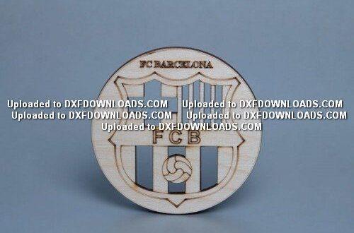 Futbol Club Barcelona dxf free