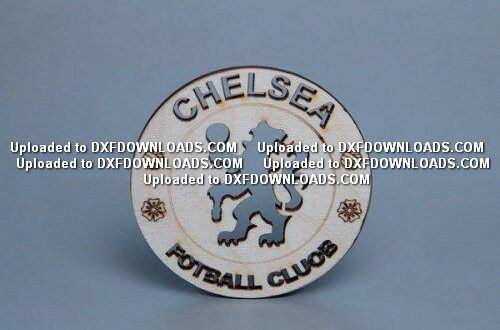Chelsea logo free dxf download