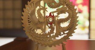 Dragon cnc model free