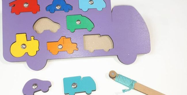 Truck kid toy intelligence puzzle