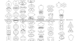 Car logos pack dxf vectors free