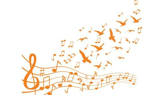 Musical notes Free vector cdr file
