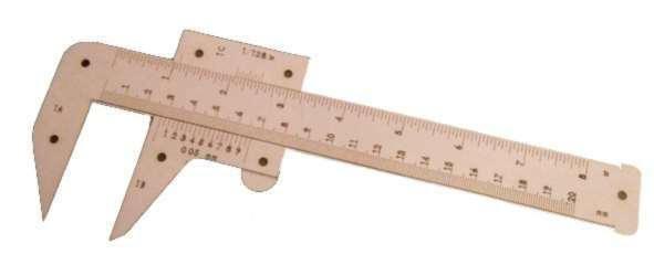 Pachymeter Free laser cutting design