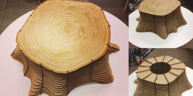 Chair shaped trunk to make on cnc