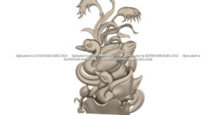 Free Ducks Relief 3D Model STL 1665