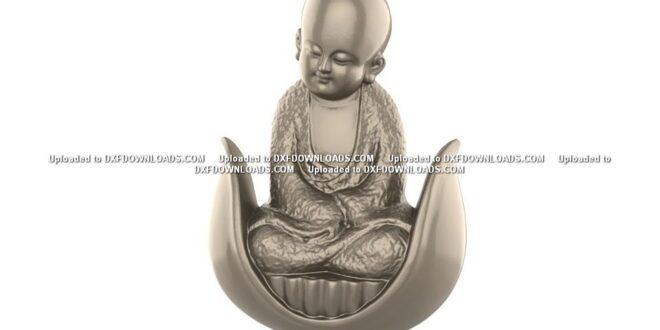 Free Buddha miniature 3D STL 1668