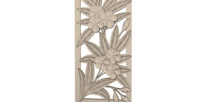 Floral panel 3d STL 1674