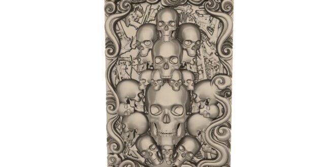 Relief skulls STL File Model 1675